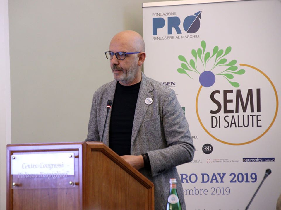 "ROMA: FRANCO PEPE RELATORE ALL' ""ANDRO DAY – SEMI DI SALUTE"""